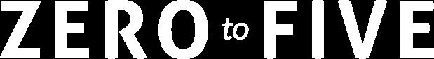 Zero to Five Logo