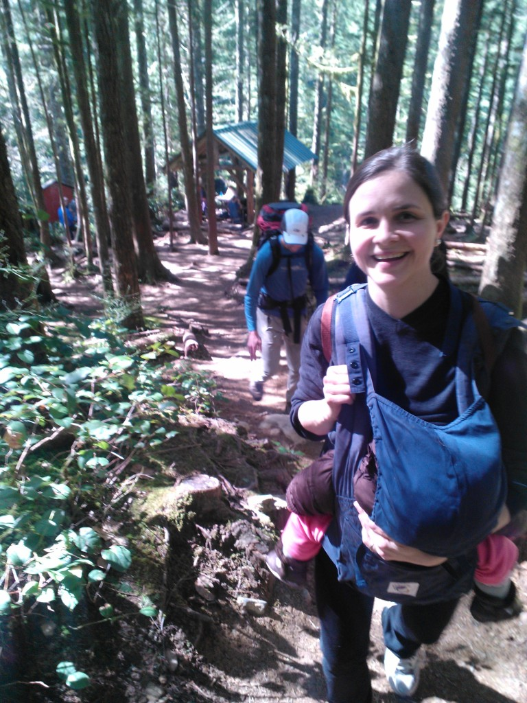 Going for a hike (Wallace Falls)