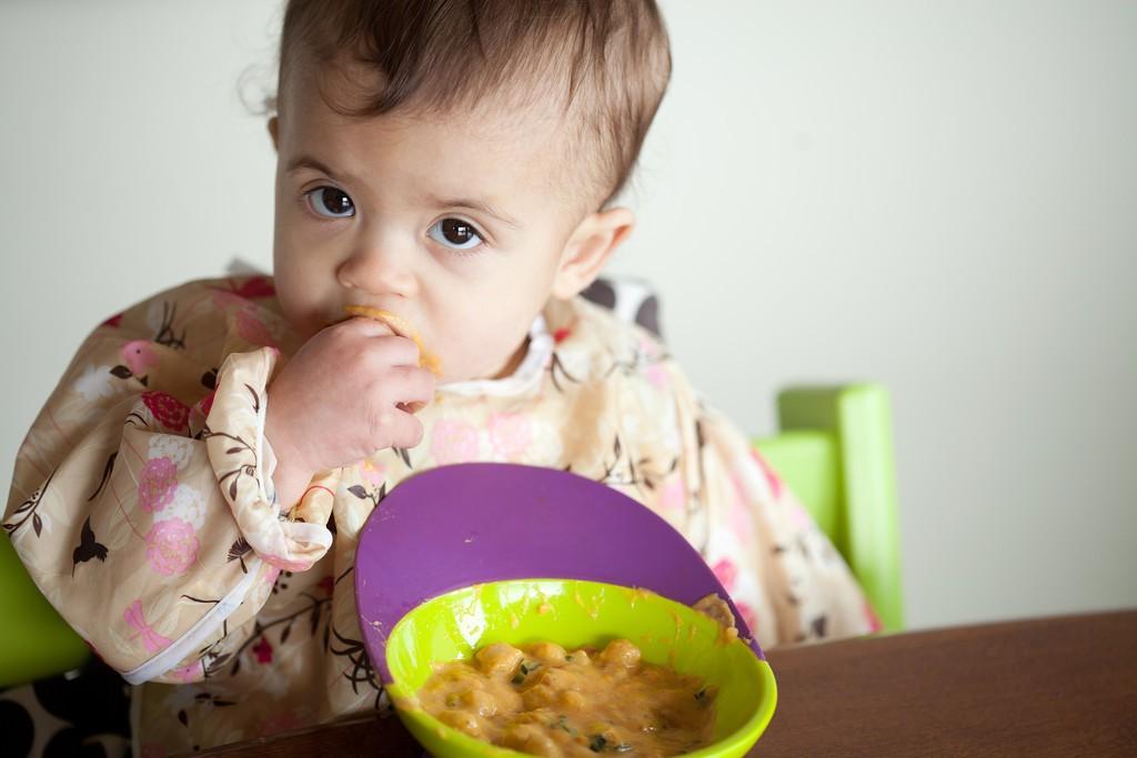 Messy baby / Copyright Meryl Schenker